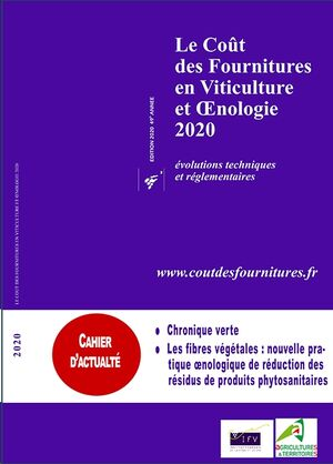 Le coût des fournitures en viticulture et oenologie 2020