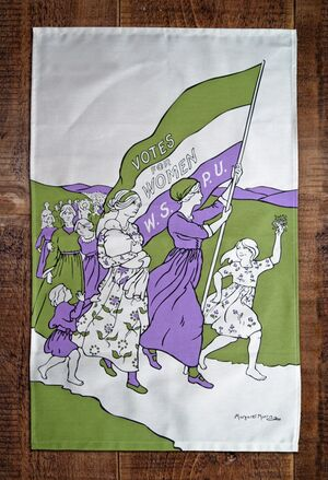 Women's March tea towel - Paño Cocina