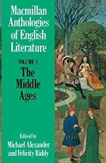 MLA, Anthology English Lit. vol. 1: Middle Ages