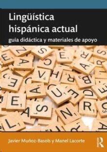 Lingüistica hispanica actual
