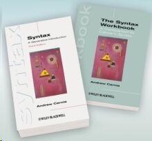 Syntax: A Generative Introd 3e & Syntax Workbook 1