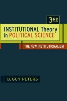 Institutional Theory in Political Science: