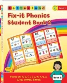 Fix-it Phonics - Level 1 - Student Book 2