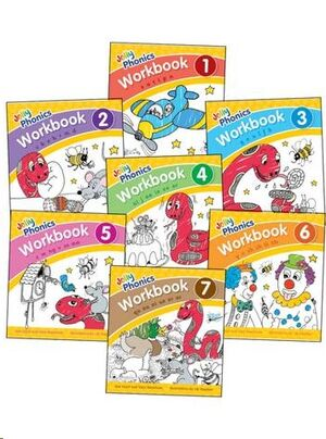 Jolly Phonics Workbooks: Books 1-7 in Precursive Letters