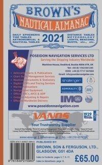 Browns Nautical Almanac 2021