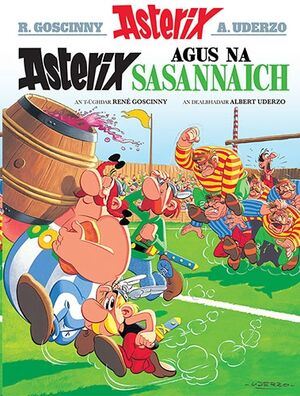 Asterix 08:Asterix Agus Na Sasannaich (Gaélico)