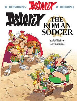 Asterix 10: Asterix the Roman Sodger (Escocés)
