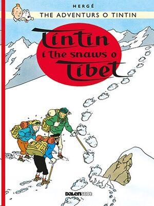 Tintin 20/Tintin i the Snaws o Tibet (Escocés)