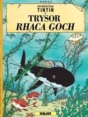 Tintin 12 /  Trysor Rhaca Goch (Galés-Welsh)