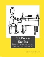 50 piezas faciles para piano para principiantes