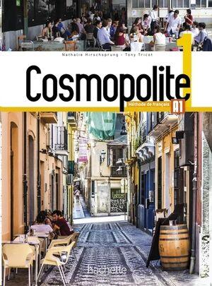 Cosmopolite 1 - Livre de l'eleve+DVD Rom+Parcours Digital