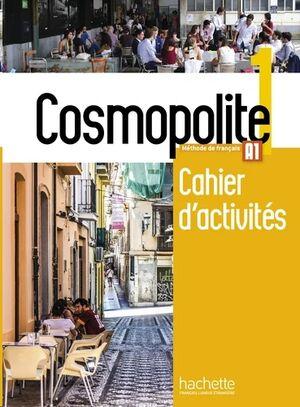 Cosmopolite 1 - Cahier d'activites+CD Rom