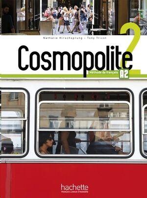 Cosmopolite 2 - Livre de l'eleve+DVD Rom+Parcours Digital