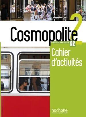 Cosmopolite 2 - Cahier d'activites+CD Rom