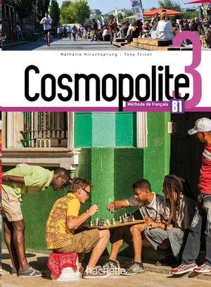 Cosmopolite 3 B1 Livre de E'leve+DVD Rom