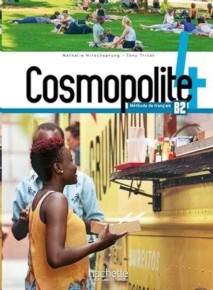 Cosmopolite 4 B2 - Méthode de français+DVD Rom (Audio Vídeo)