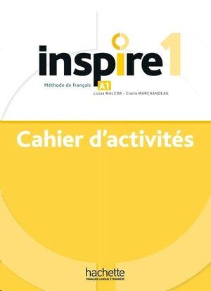 Inspire 1 - Cahier d'activités+Audio MP3 - Methode de Fle