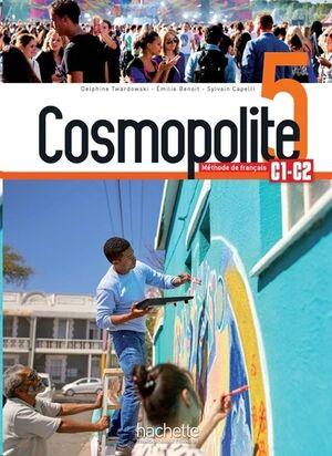 Cosmopolite - Méthode de français C1-C2+Audio/Vídeo Telechargeables - Methode de Fle
