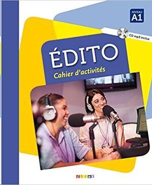 Edito A1 - Cahier+CD MP3