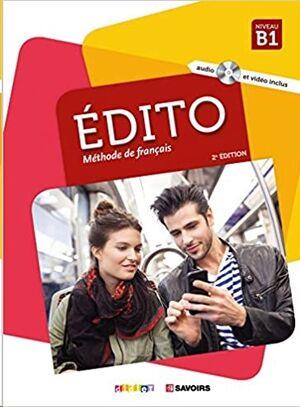 Edito B1 - Livre + DVD