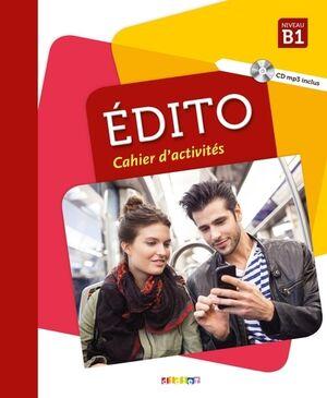 Edito B1 (éd. 2018) - Cahier + CD