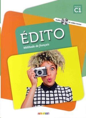 Edito C1 - Methode de Français+DVD-Rom