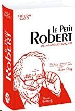 Le Petit Robert Langue Française 2020