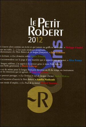 Le Petit Robert Langue Française 2012 coffret fin d'année