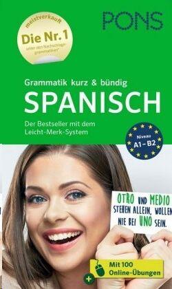 PONS Grammatik kurz & bündig Spanisch A1-B2
