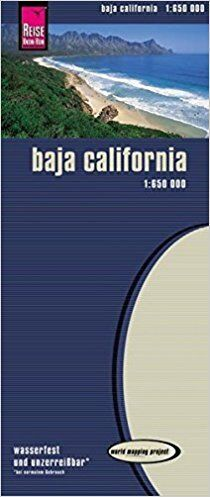 Reise Know-How Landkarte Baja California