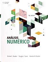 Análisis Numérico, 10 ed.