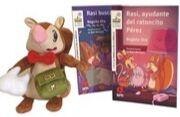 Rasi y el ratoncillo Pérez (pack con muñeco Rasi)