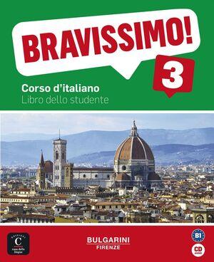 Bravissimo! 3 Libro dello studente + CD