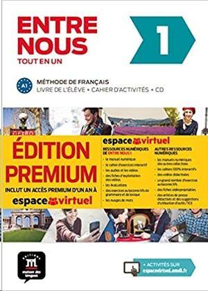Entre nous Tot en un 1 Premium Livre de l´élève + Cahier + CD