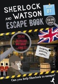 Sherlock & Watson. Escape book per repassar anglès.