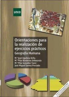 Orientaciones para la realización de ejercicios prácticos. Geografía humana