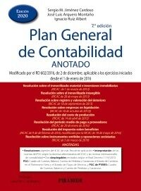 Plan General de Contabilidad Anotado 2020