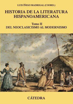 Historia de la Literatura Hispanoamericana, tomo II