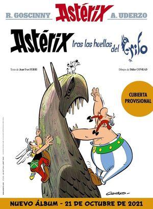 Astérix 39: Astérix tras las huellas del grifo