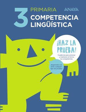 Competencia lingüística 3º primaria