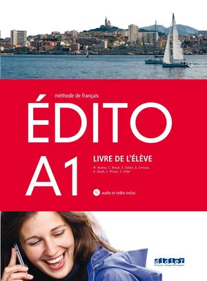 Edito A1 Livre de l'eleve+CD+DVD