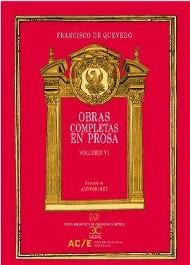 Obras completas en prosa VI - Memoriales