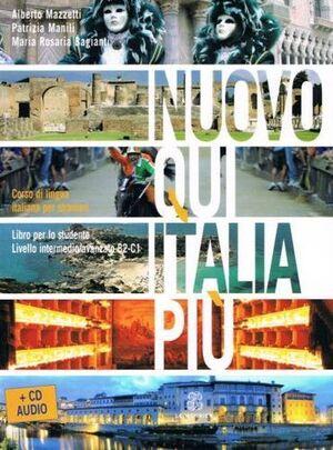 Nuovo qui Italia più (intermedio B2-C1) libro+CD