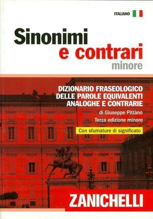 Sinonimi e contrari - 3ed Minore (rústica)