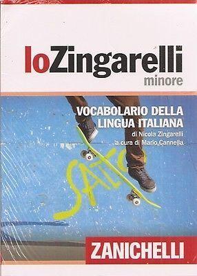 Lo Zingarelli Minore, 15ª ed.