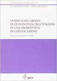 Verifica grado conoscenza italiano