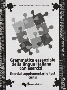 Grammatica essenziale (chiavi esercizi)