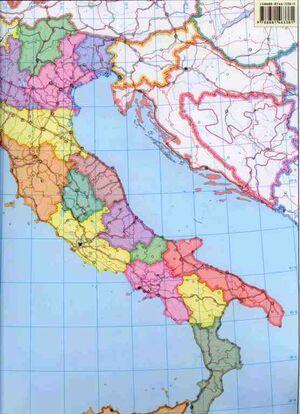 Italia Fisico/Politica Muda (da banco)