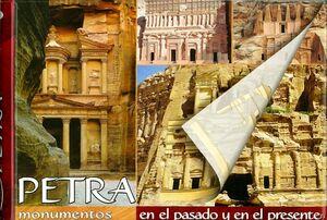 Petra monumentos en el pasado y en el presente