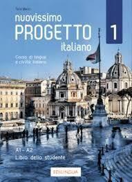 Nuovissimo Progetto Italiano 1 - Libro + DVD